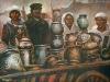Puodžių turgus 2000 Sold. Property of V. Valiušis ceramics museum.